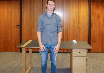 Tim Keller erhielt mit seinem Gesellenstück den zweiten Preis.