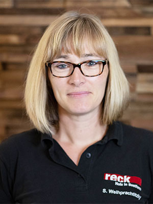 Mitarbeiterin Team Reck - Silvia Weihprachtitzky