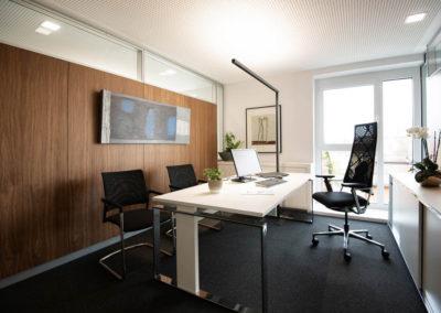 Büroeinrichtungen Finanzkanzlei