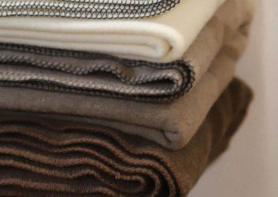 Wolldecken aus kuscheligem Stoff