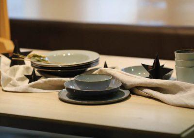 Geschirr mit modernem Design